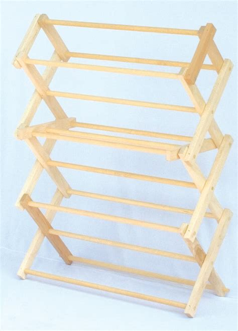 Amish Drying Rack by Amish Wooden Tabletop Folding Clothes Drying Rack