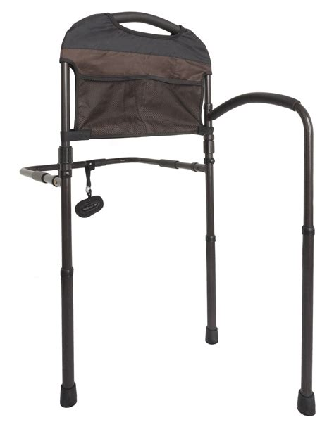 stander mobility home bed rail adjustable swing  hand