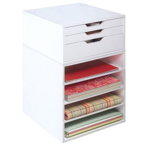 3 Drawer Organizer Cube by Crafts The Top And Paper On