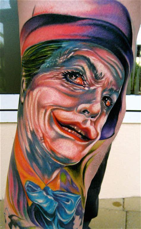joker tattoo artist joker tattoo by mike demasi tattoonow