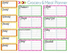 ultimate planning notebook add on grocery amp meal planner