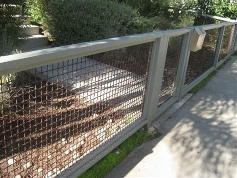 home design studio chain link wall décor 27 cheap diy fence ideas for your garden privacy or