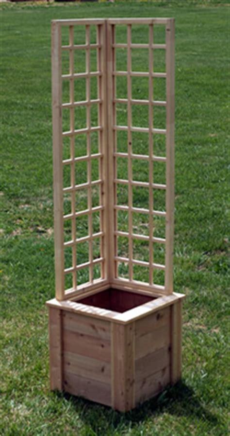 Wood Plant Trellis Wood Garden Trellis Beautify Your Garden