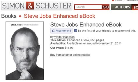 steve jobs biography book how many pages steve jobs bio balloons to 656 pages publication date