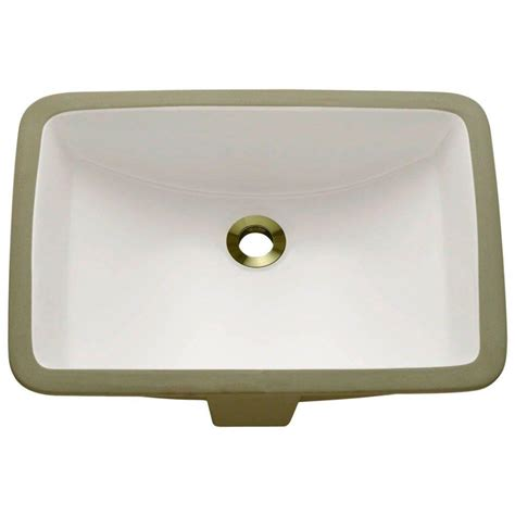 porcelain undermount sinks bathroom polaris sinks undermount porcelain bathroom sink in bisque