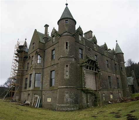 Victorian Mansions balintore castle a restoration project abandoned scotland