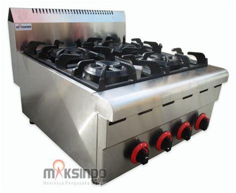 Oven Gas Di Malang jual counter top 4 burner gas range di malang toko mesin