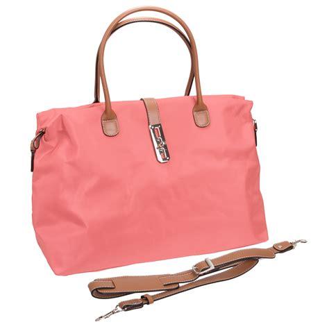 Tote Bag Tosca tosca womens pink oversized travel tote shopper handbag bag shoulder purse