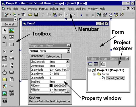 visual basic diagram visual basic