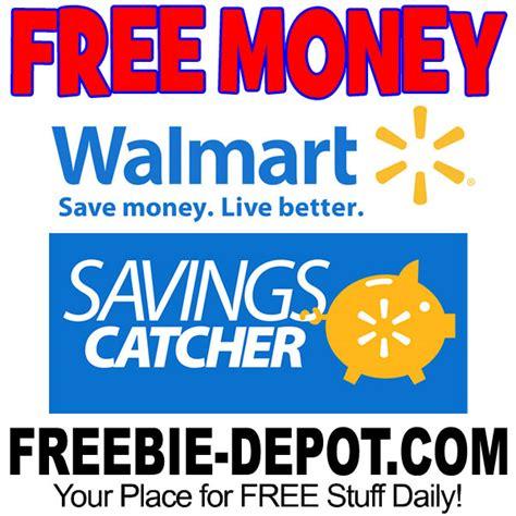 Walmart Savings Catcher Gift Card - free walmart savings catcher free money freebie depot