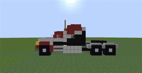 minecraft semi truck dump and semi trailer trucks minecraft project
