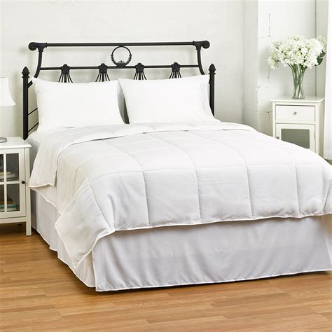 lightweight reversible down alternative summer comforter