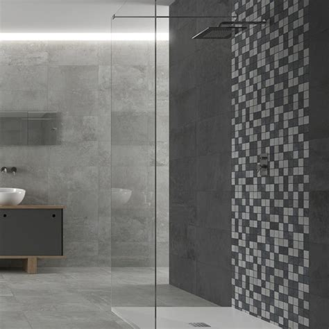 Badezimmer Fliesen Modern Mosaik by Bathroom Mosaic Tiles Grey Bathroom Tiles Direct Tile