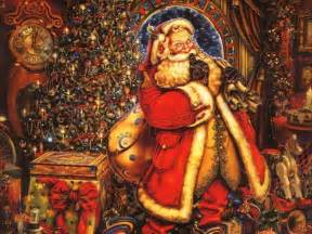 santa claus christmas wallpaper 2736331 fanpop