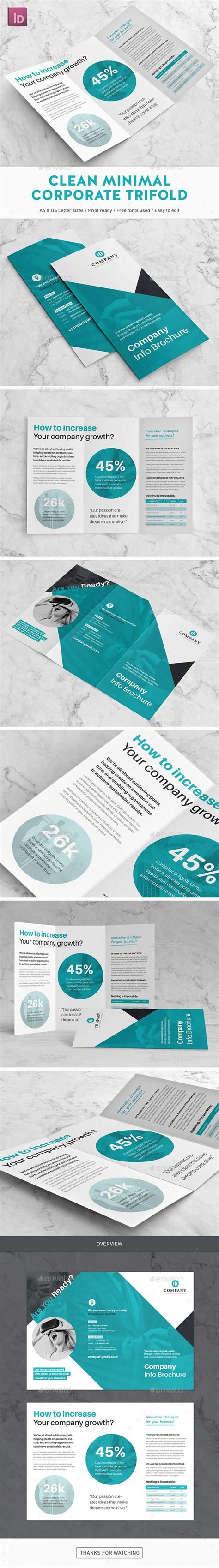 indesign trifold template 25 best ideas about brochure design on