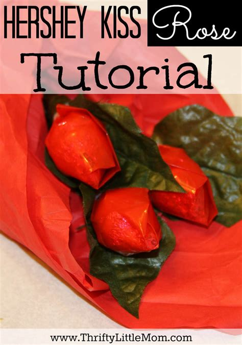 how to kiss tutorial with pictures hershey kiss valentine roses tutorial 187 thrifty little mom