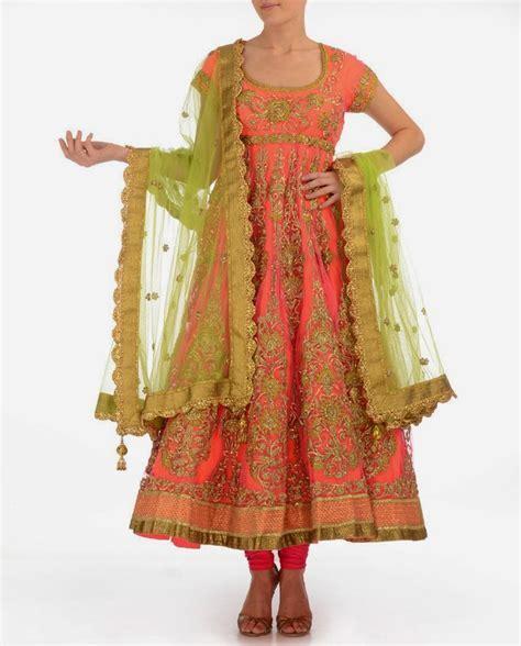Designer Aneesh Agarwaal Wedding Anarkali Suits   missy