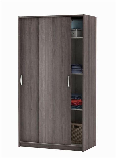 mobili armadi armadio ante scorrevoli colore rovere scuro