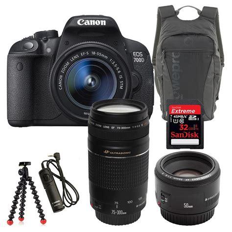 Canon 700d canon eos 700d ultimate bundle cameraland co za cape town