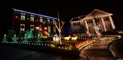 christmas lights on greystone court in medford 171 ashland