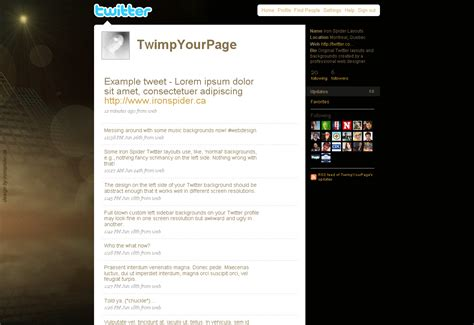 twitter layout problem dark twitter backgrounds layouts for twitter profiles