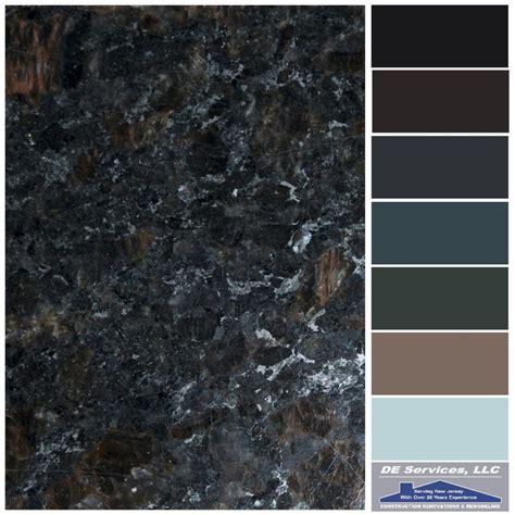 brown granite de color palettes