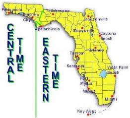 florida timezone map what is florida time zone questions and answers