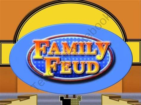 Family Feud From Total Language Connections On Teachersnotebook Com 23 Pages Free 3rd 5th Family Feud Template For Teachers
