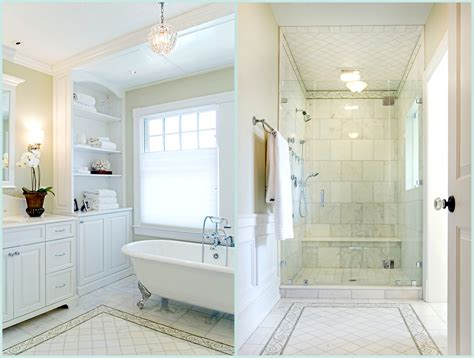master bathroom shower historic restoration