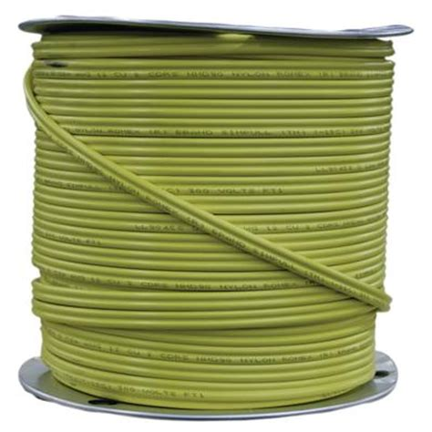 12 electrical wire price romex 12 2 cu nmd 90 yellow jkt w g csa 150m home depot