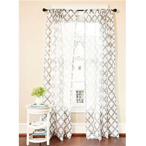 trellis design curtains horchow ambrosia sheer curtains copy cat chic