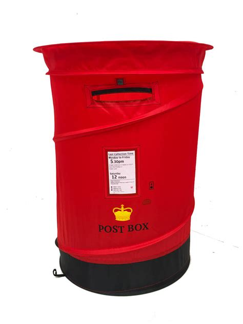 wedding card post box next day delivery post box pop up laundry basket storage by high