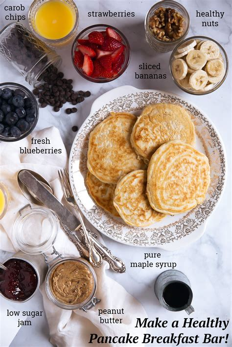 how to make a breakfast bar in a small kitchen kitchen how to make a healthy pancake bar for breakfast