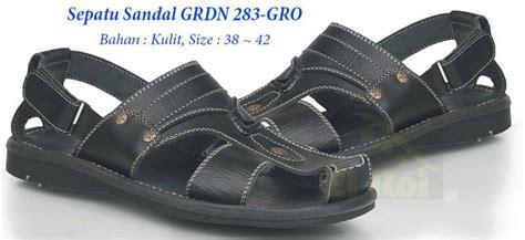 Sandal Kulit Pria Kode G 117 sepatu sandal kulit pria grdn
