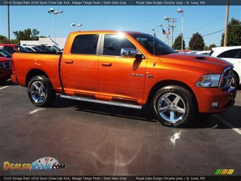 2010 Dodge Ram 1500 Sport by 2010 Dodge Ram 1500 Sport Crew Cab 4x4 Mango Pearl