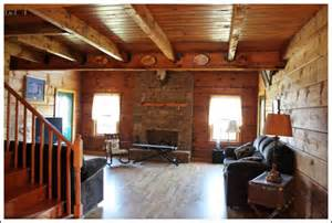 Log Home Interior Decorating Ideas Log Cabin Living Room Before And After Photos