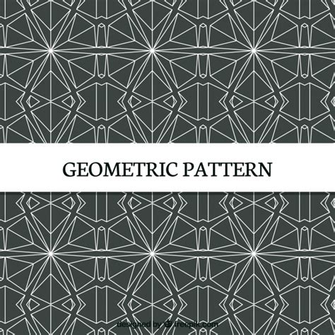 pattern geometric elegant elegant pattern of geometric shapes vector free download