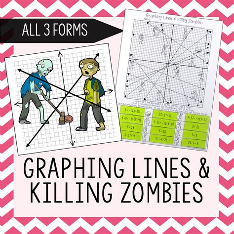 slope math is fun graphing lines zombies all 3 forms maths algebra