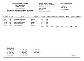 Student Report Card Template Report Card Maker