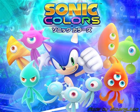 sonic color team sonic speed wallpapers sonic colors