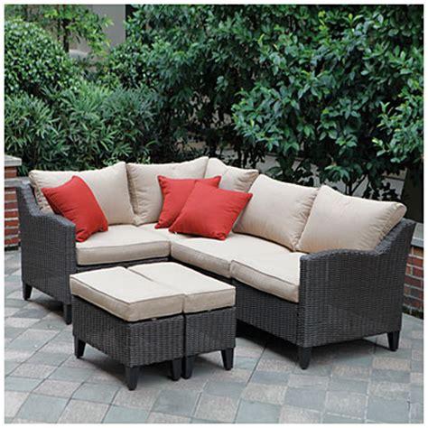 key largo patio furniture view wilson fisher 174 key largo 6 modular seating