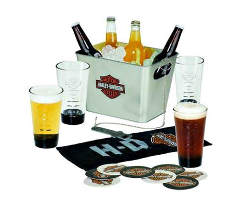 harley davidson bar and shield party bucket set birthday