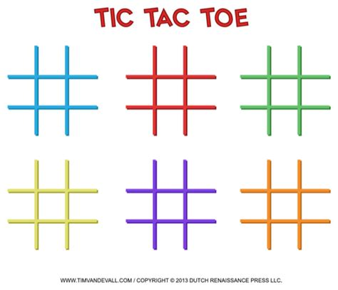 download tic tac toe template for free formtemplate
