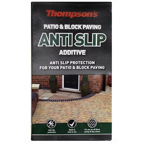 Thompsons One Coat Patio Sealer by Thompsons Patio And Block Paving Seal Anti Slip Additive