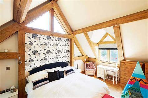 Vaulted Ceiling Energy Efficiency by Energy Efficient Oak Frame Home Homebuilding Renovating