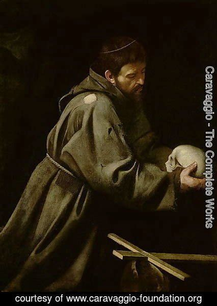libro caravaggio the complete works 97 caravaggio the complete works saint francis in meditation caravaggio foundation org