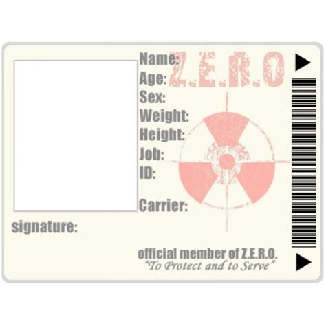 Emergency Response Card Template by 113 Best Id Card Templates Images On