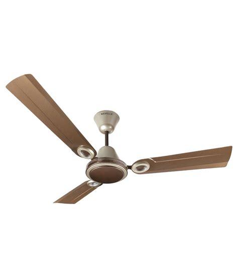 best deals on ceiling fans havells 1200 mm joy ceiling fan pearl brown gold mist