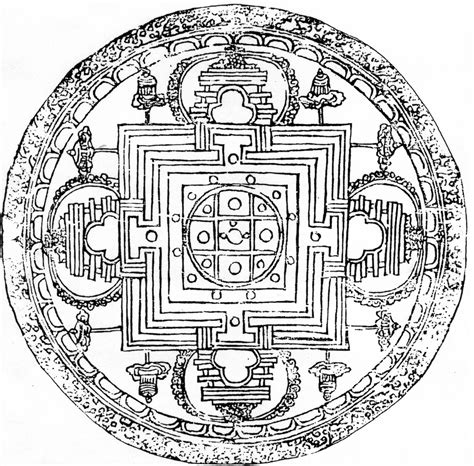 mandala coloring book meaning 36 the act of prometheus quadriformisratio