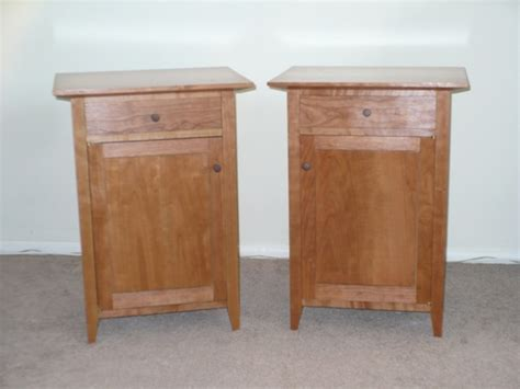 matching cherry bedside cabinets based on t rousseau s plans finewoodworking